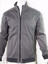 Calvin Klein colorblocked jacquard full zip men's jacket size large NEW on SALE