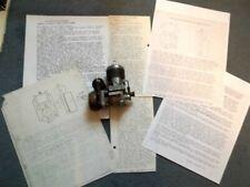 Vintage Tether Race Car - Dooling-Hornet-McCoy HORNET MAGNETO Assembly Articles