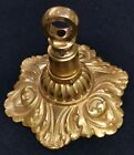** RARE hard to find Sherle Wagner 24kt Gold chandelier ceiling CANOPY