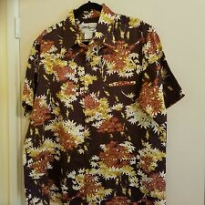 Collectors Hawaiian Tori Richard's Classic Rayon polyester Shirt xl