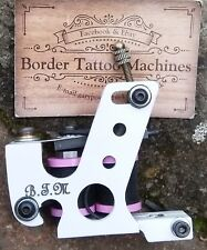 BORDER TATTOO MACHINE SHADER/PACKER IRON FRAME CUSTOM 8 LAYER HEX-T-TOP COILS