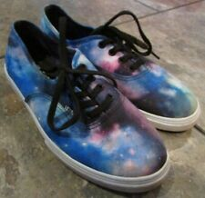 Vans Galaxy Print Sneakers Size 3.0 Youth EUC