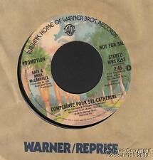 1975 Kate & Anna McGarrigle M- DJ 45 (Complainte Pour Ste Catherine)