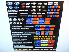 Emergency Vehicle Add On Graphics for 64 Scale Police Sheriff  Custom 2 for 1 $