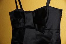 FRENCH CONNECTION little black dancer strap dress in black size 6 New Unused