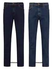 De Hombre Wrangler icónico Jeans Rectos Denim Stretch FIT REGULAR DE * segundos de fábrica *