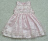 Pink Girls Dress Size 6 Six Polyester Rayon Easter Church Formal Lace Zipper Up