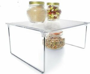 Foldable Pantry Shelf - White