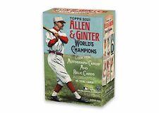 New listing 2021 MLB TOPPS ALLEN & GINTER WORLD'S CHAMPIONS BASEBALL TRADING CARD BLASTER