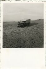 PHOTO ANCIENNE - VINTAGE SNAPSHOT - CAMION ZELFANA SAHARA ALGÉRIE - TRUCK 1951 2
