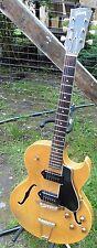 Stunning 1956 Gibson ES-225 All Original Blonde 2 Owner w OHSC 2 P-90s