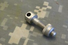 """Uncle Mikes Sling Swivel Stud, Front Machined, Nickle Plate 7/8"""" Shaft W/Nut"""