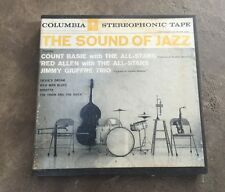 Reel to Reel Tape TRACK The Sound of Jazz Count Basie Red Allen Jimmy Giuffre 7½