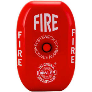 NEW Howler Site Fire Alarm - Push On/Off Switch