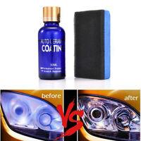 30ML 9H Headlight Lens Car Scratch Repair Polishing Liquid Polish Cleaning Kits