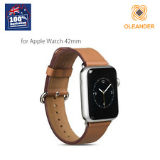 HOCO Original 42mm Apple Watch Band Brown Wristband Leather Strap Classic