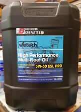 Vetech 5w30 C3 Fully Synthetic Car Engine Oil 20L Low Sap 20L VW 504 507 dexos2