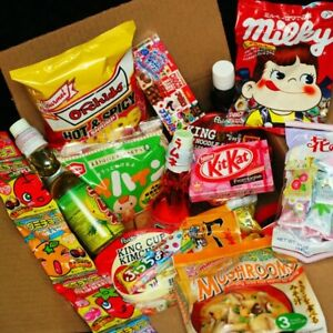 New GENUINE Asian Snack, Ramen, Drink Box 25 pcs JAPANESE KOREAN CHINESE THAI