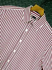 ⭐ Mens PAUL SMITH Italy premium cotton striped shirt size 38-40 medium 39/15.5