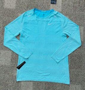 Men's Size Medium M Nike Tech Knit Ultra Long Sleeve Running Top Shirt CJ5346