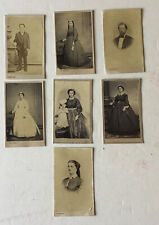 7 A. Constant New Orleans CDV Photographs Ca. 1860