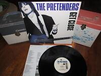 PRETENDERS Vinyl Lp GET CLOSE W/Inner 1986 Sire Beauty!
