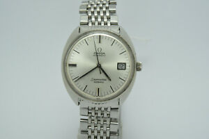 Omega Seamaster Cosmic Mens Watch with Date - Stainless Steel - Vintage