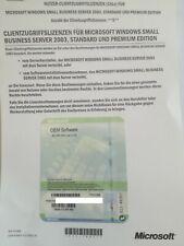 Microsoft Windows Small Business Server 2003 5 User CAL Zusatzlizenzen T74-01096