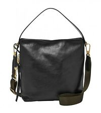FOSSIL Cross Body Bag Maya Small Hobo Black