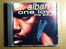 DR. ALBAN - ONE LOVE - CD AUDIO PRIMA EDIZIONE DEL 1992 RARO NUOVO