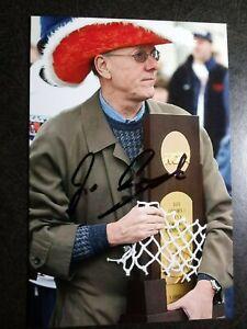 JIM BOEHEIM Authentic Hand Signed Autograph 4X6 Photo SYRACUSE BASKETBALL COACH