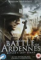 The Battle Of Ardennes DVD Hitlers Last Stand - Region 2 UK War Movie True Story