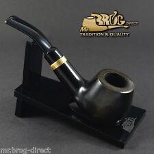"OUTSTANDING Hand made Mr.Brog original small smoking pipe nr. 32 black "" DUCAT """