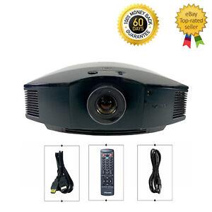 Sony VPL-HW30ES SXRD Projector 1920x1080 HD 1080p Full HD 3D HDMI w/bundle