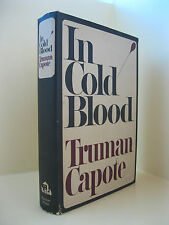 In Cold Blood - Truman Capote, First Edition, New York, Random House, 1965