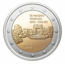 2 euros commemorative Malte 2019 Malte 2019 Temples de Ta' Hagrat à Mgarr UNC