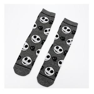 The Nightmare Before Christmas Jack Skellington Tim Burton Halloween Mens Socks
