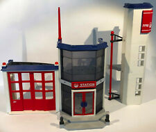 Playmobil 4819 Feuerwehr Hauptquartier Station Fire Kinder Spielzeug Jungen