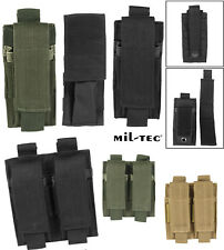 Mil-Tec Mag.tasche F.pistole Double Oliv