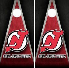 New Jersey Devils Cornhole Wrap Skin Board NFL Sports Vinyl Decal GC111
