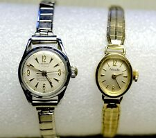 TWO VINTAGE LADIES SWISS MADE WATCHES NIVADA/CARDINAL