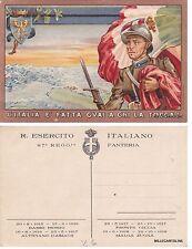 # FANTERIA DI LINEA: 87° REGGIMENTO - L'ITALIA E' FATTA GUAI A CHI LA TOCCA!