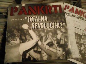 Pankrti Program Totalna Revolucija Live In Belgrade 2010 LP Limited Slovenia