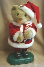 Musical & Lighted SANTA CLAUS TEDDY BEAR - Plays Christmas Song Variety