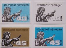 Stadspost Nijmegen 1987 - 4 zegels Keizer Traianus ongetand