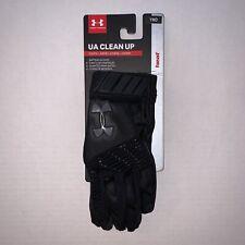 Under Armour Clean Up Batting Gloves Black/Black Ymd Youth Medium 1299531-002