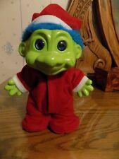 "Vintage 8"" Green Ceramic ""Grinch"" Christmas Troll, Very Good"