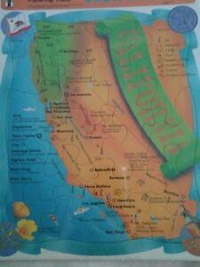 "Vtg 1992 The Rainbow Works Frame-Tray Puzzle-Jigsaw-California-14x11""NOS/MIOP"