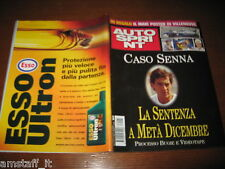 AUTOSPRINT 1997/45=AYRTON SENNA=PATRICK HEAD=TEST BMW 320I=RALLY AUSTRALIA=