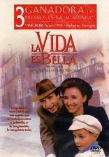Sealed - La Vida Es Bella - Life Is Beautiful Dvd New Roberto Benigni Brand New
